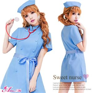 コスプレ コスチューム ナース ナース服 看護婦 ブルー