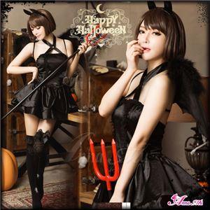 コスプレ 衣装 デビル 悪魔 魔女 コスチューム 仮装の写真1