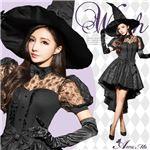 ハロウィン コスプレ 魔女 魔法使い ウィッチ コスチューム コスプレ衣装 セット 全身 ペア セクシー 変装 仮装の画像