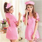 コスプレ ランジェリー コスチューム ナース ナース服 看護婦 ピンク z930