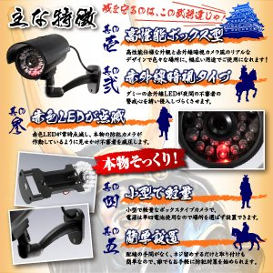 【屋外用、防犯カメラ、監視カメラ】赤外線暗視型...の紹介画像3