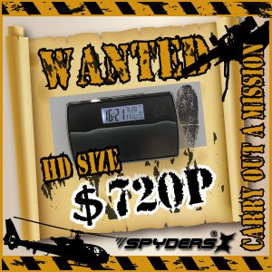 【防犯用】【超小型カメラ】【小型ビデオカメラ】置時計型 スパイカメラ スパイダーズX (C-500K/ブラック)H.264圧縮対応 常時24時間録画 h02