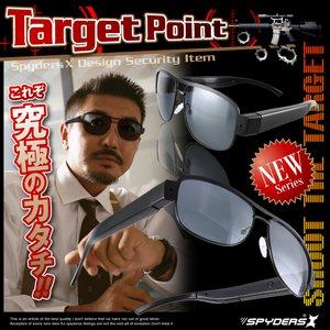 サングラス メガネ型 スパイカメラ スパイダーズX (E-240) HD720P 外部電源 ハンズフリー ティアドロップ h02