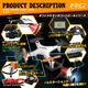【RCオリジナルシリーズ】小型カメラ搭載ラジコン クアッドコプター ドローン 2.4GHz 4CH対応 6軸ジャイロ搭載 3Dアクション フリップ飛行『RAIDER』(OA-2680) VGA 30FPS - 縮小画像4