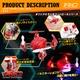 【RCオリジナルシリーズ】ラジコン クアッドコプター ドローン 2.4GHz 4CH対応 6軸ジャイロ搭載 3Dアクション フリップ飛行『CrotoX』(OA-2620) - 縮小画像4