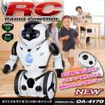 【RCオリジナルシリーズ】ラジコン ロボットトイ 人型 6軸ジャイロ 走行 旋回 ジェスチャーコントロール ダンス ボクシング 赤外線リモコン 『KiB Robot』 (OA-4170)