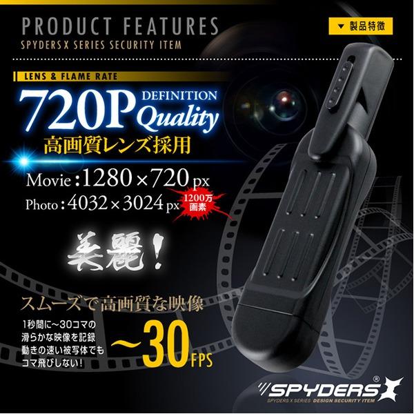 小型カメラ 720P