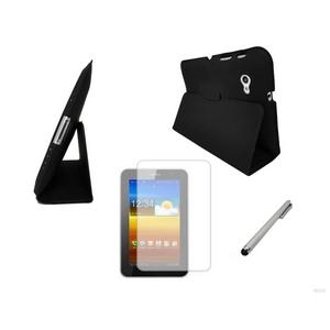 GALAXY Tab 7.0 Plus スリムスマートカバー 3点セット 黒(ブラック)