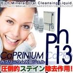 研磨剤不使用電動歯ブラシ対応ステイン除去剤 カプリニウム13ジェル 【10g×3本セット】