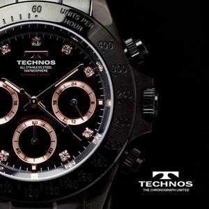 TECHNOS(テクノス) メンズ腕時計 クロノグラフ T4102BP 限定モデル - 拡大画像