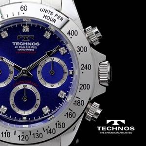 TECHNOS(テクノス) メンズ腕時計 クロノグラフ T4102SN 限定モデル - 拡大画像