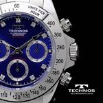 TECHNOS(テクノス) メンズ腕時計 クロノグラフ T4102SN 限定モデル