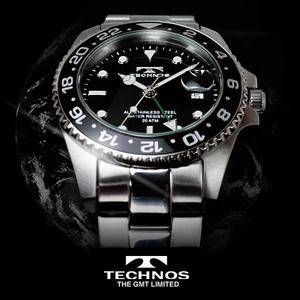 TECHNOS(テクノス) GMT 限定モデル メンズ 腕時計 T2134SB - 拡大画像