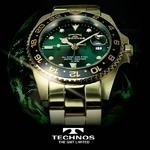 TECHNOS(テクノス) GMT 限定モデル メンズ 腕時計 T2134GG