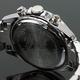 Seventh Wonder(セブンス・ワンダー) クロノグラフ メンズ 腕時計 NAVY SW0193 - 縮小画像2
