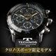 TECHNOS(テクノス) クロノ・スポーツ 限定モデル ブラック/ゴールド メンズ 腕時計 T2163SH - 縮小画像1