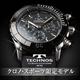 TECHNOS(テクノス) クロノ・スポーツ 限定モデル ブラック メンズ 腕時計 T2163SB - 縮小画像1