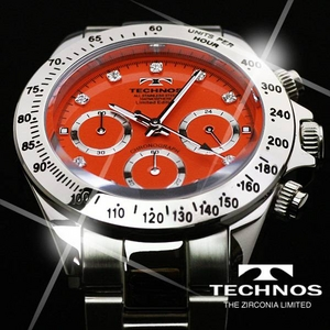 TECHNOS(テクノス) メンズ腕時計 クロノグラフ T4102SO 限定モデル - 拡大画像