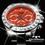 TECHNOS(テクノス) メンズ腕時計 クロノグラフ T4102SO 限定モデル