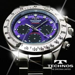 TECHNOS(テクノス) メンズ腕時計 クロノグラフ T4102SU 限定モデル - 拡大画像