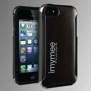 imymee LANCER iPhone5専用 耐衝撃構造 カード収納付き ケース メタルグレー - 拡大画像