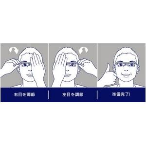度数が調節できるメガネ