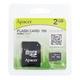 Apacer(アペイサー) MicroSDカード 2GB
