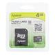 Apacer(アペイサー) MicroSDカード 4GB