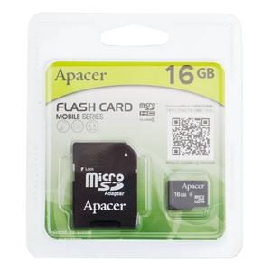 Apacer(アペイサー) MicroSDカード 16GB - 拡大画像