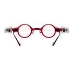 adlens(アドレンズ) 度数が調節できる眼鏡 ピーオーヴィー(adlens p.o.v) レッド