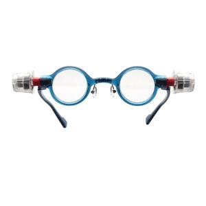 adlens(アドレンズ) 度数が調節できる眼鏡 ピーオーヴィー(adlens p.o.v) ブルー - 拡大画像