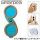 落下リスクを軽減 スマートフォン対応フィンガーホルダー Smarpea(スマーピー) ブルー - 縮小画像1