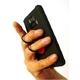 落下リスクを軽減 スマートフォン対応フィンガーホルダー Smarpea(スマーピー) ブラック - 縮小画像5