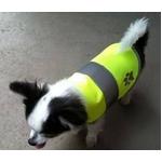 DOG SAFETY VEST(ドッグ セーフティーベスト) 蛍光イエロー S
