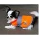 DOG SAFETY VEST(ドッグ セーフティーベスト) 蛍光オレンジ M - 縮小画像1