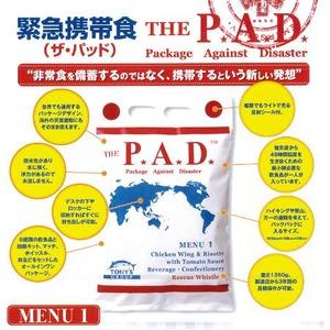 THE PAD(ザ・パッド)緊急携帯食 MENU2(和食風)×100個セット