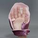 話題になるプレゼント!新しい感覚の防寒グッズ あったか手袋 デスクミトン(ピンク) 右手用 - 縮小画像6