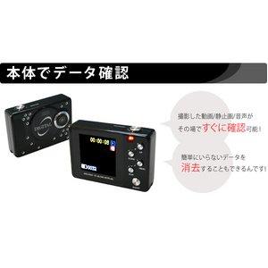 【microSDカード16GBセット】 【小型カメラ】小型&液晶モニター付きデジタルビデオカメラ  Y1000_16GB