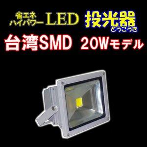 LED投光器20W 【100W相当】 【5mケーブル】【PSE取得】【200V対応】[BN-LED20] - 拡大画像