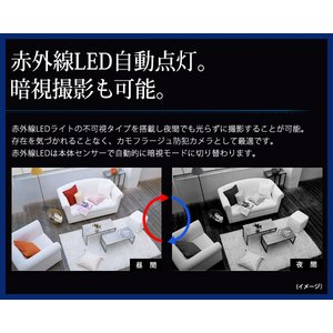 LEDライト電球型 小型ビデオカメラ 【BULBREC TYPEN - バルブレック ノーマルタイプ -】(MS-BC681H)