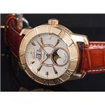 GALLUCCI(ガルーチ) 腕時計 ビッグデイト WT23383AU-RGWH
