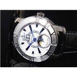 GALLUCCI(ガルーチ) 腕時計 ビッグデイト WT23383AU-SSWH