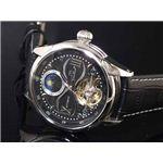 GALLUCCI(ガルーチ) 腕時計 サン&ムーン WT23388AU-SSBK