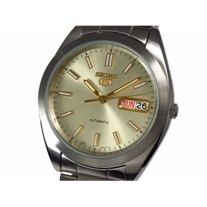 SEIKO(セイコー) 5(ファイブ) 腕時計 自動巻き メンズ SNX995K - 拡大画像