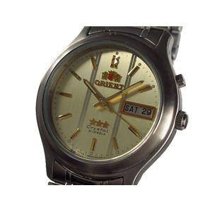 ORIENT(オリエント) 腕時計 スリースター メンズ mensthreestar - 拡大画像