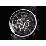 GALLUCCI(ガルーチ) 腕時計 クロノグラフ WT23189CH-BK