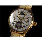 GALLUCCI(ガルーチ) 腕時計 サン&ムーン WT23388AU-GDWH
