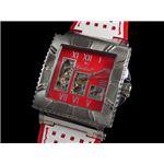 GALLUCCI(ガルーチ) 腕時計 スケルトン 自動巻き WT22454SK-WHRD