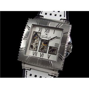 GALLUCCI(ガルーチ) 腕時計 スケルトン 自動巻き WT22454SK-WHWH - 拡大画像