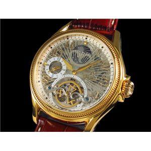GALLUCCI(ガルーチ) 腕時計 スケルトン 自動巻き WT23145SK-GD - 拡大画像
